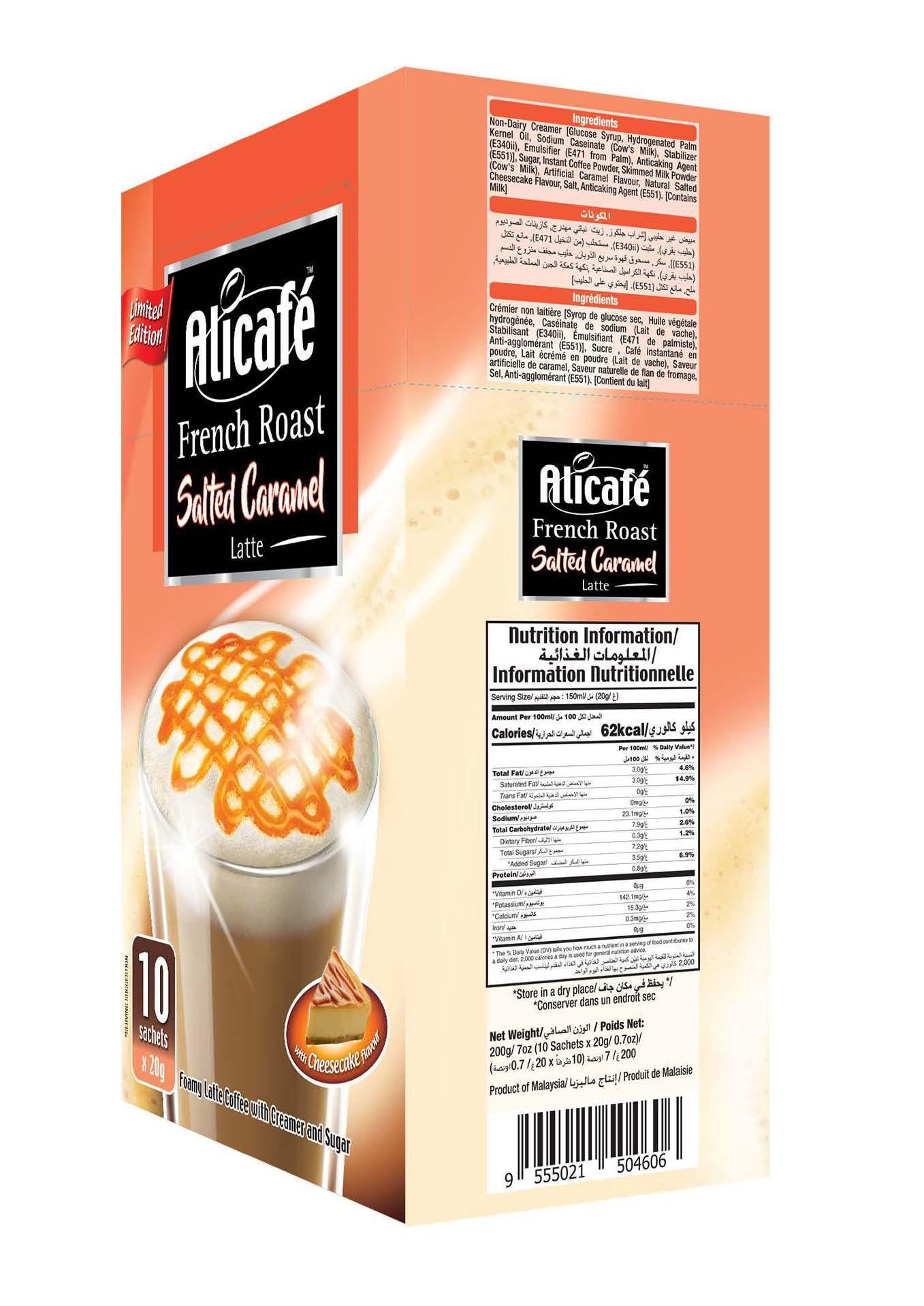 Alicafé French Roast Salted Caramel Latte