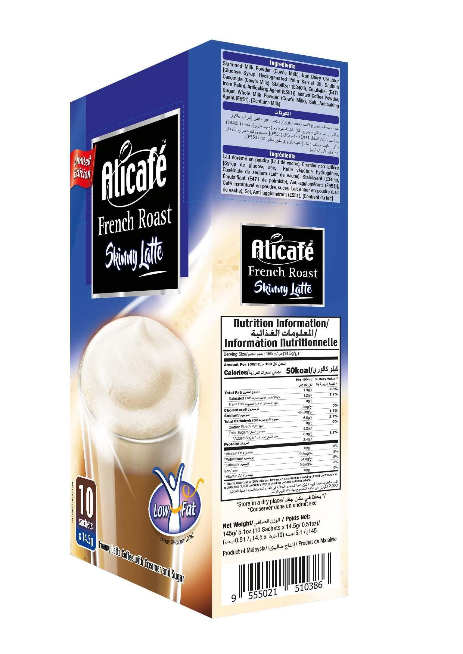 Alicafé French Roast Skinny Latte