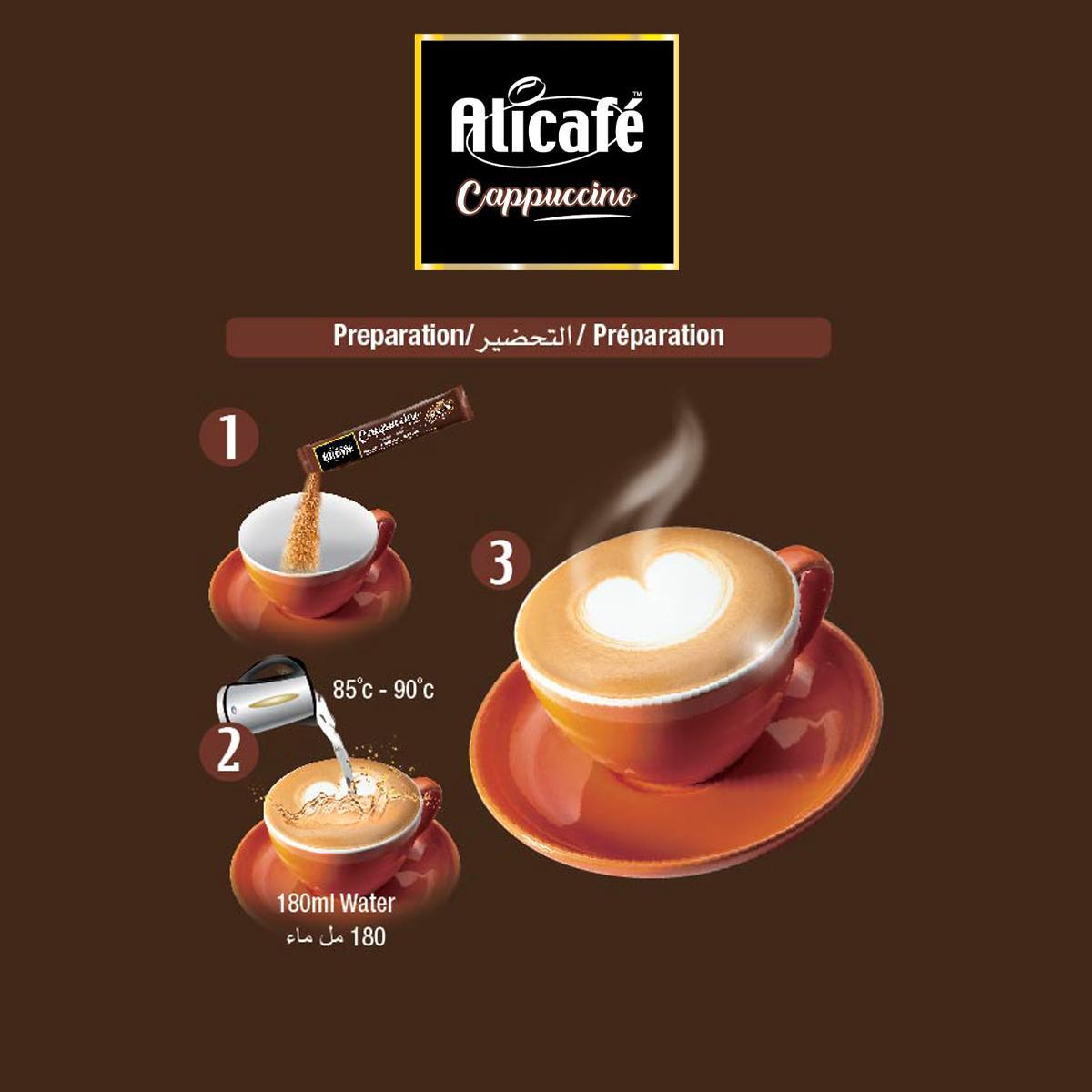 Alicafé Cappuccino With Ginseng
